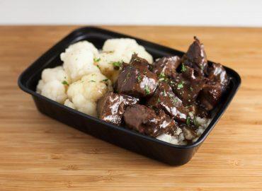 Braised Beef Sirloin Tips