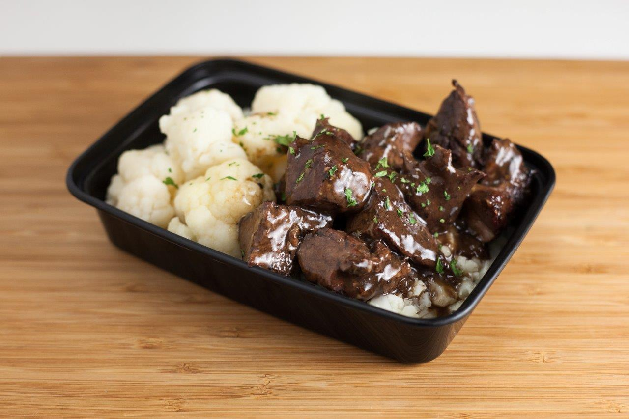 Braised Beef Sirloin Tips